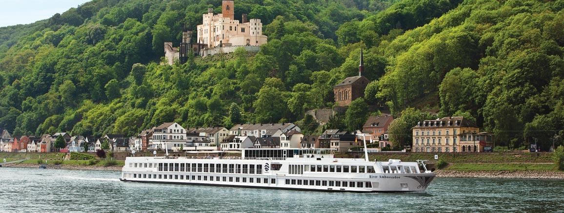 A River CRUISE PROVIDES A RELAXED FABULOUS Historic & scenic EUROPEAN PERCEPTIVE