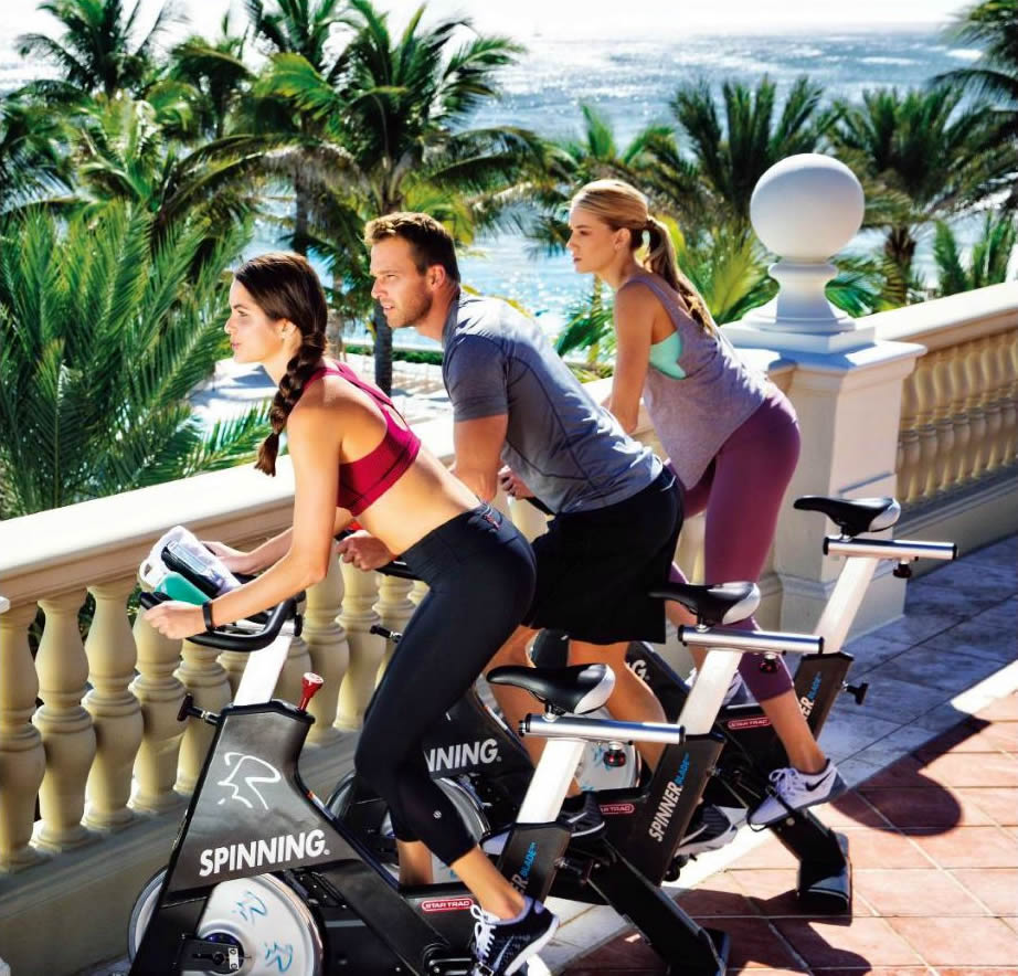 Spin Classes at the Breakers, Palm Beach