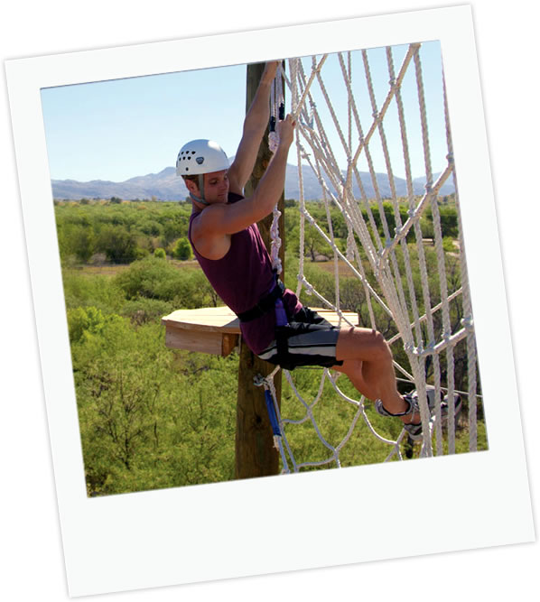 Learning the ropes at canyon ranch, Tuscon