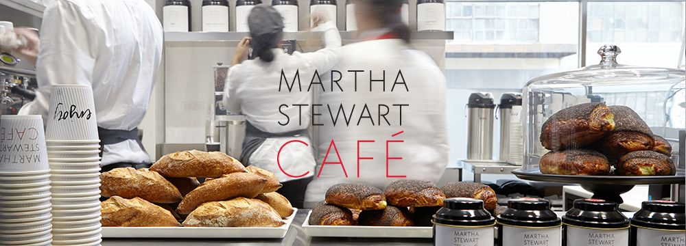 martha stewart cafe in action