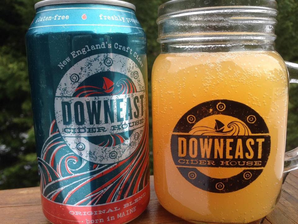 Downeast Cider House Original Blend visitors / GARY DZEN, BOSTON GLOBE