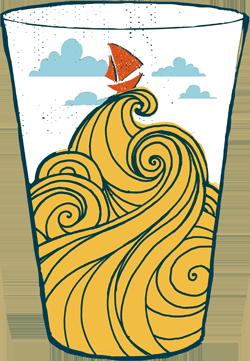 logo design for downeast cider house