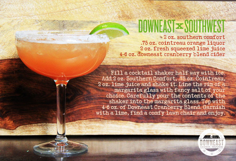 Our favorite thing about the Downeast CiderHouse guys is their creativity in   Mixology