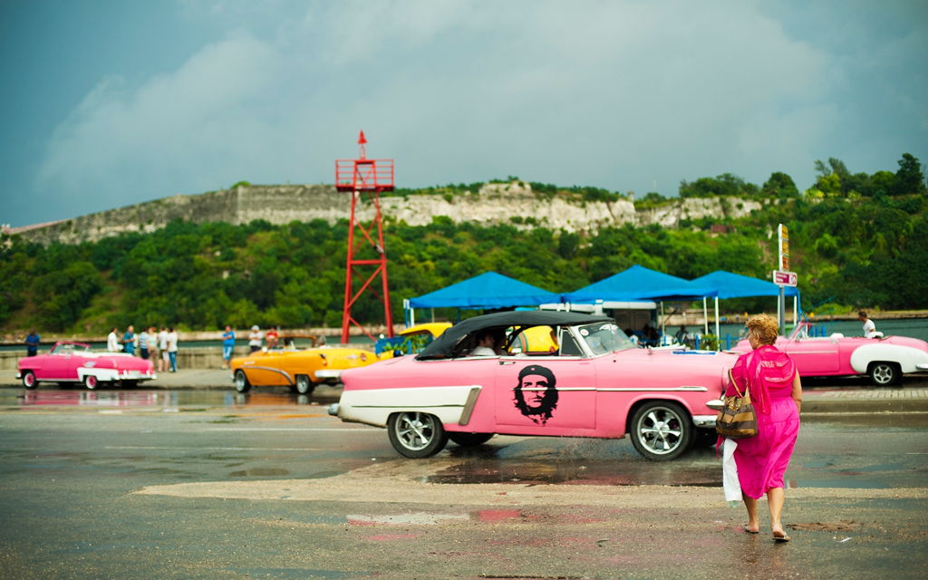 The Real cuba full of color