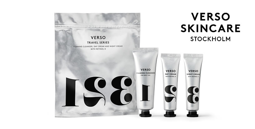 VERSO SKINCARE TRAVEL SERIES