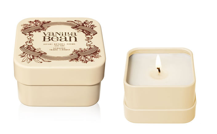 VANILLA BEAN TRAVEL CANDLE