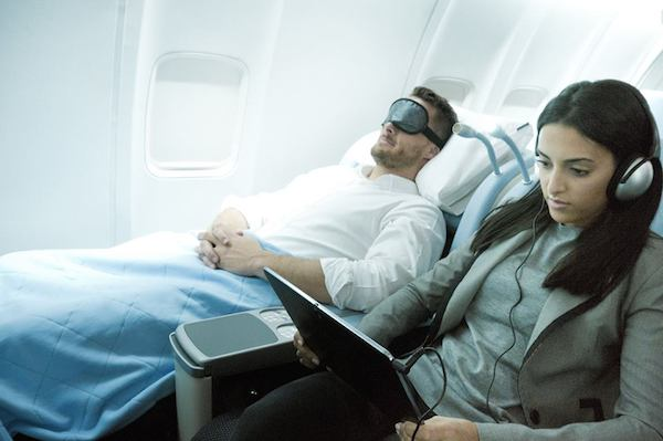 new york to london or paris in business class round trip from new york on la compagnie