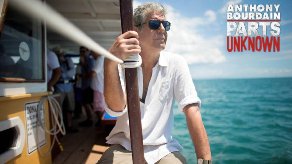 courtesy CNN shooting 'Anthony Bourdain Parts Unknown' on location in Salvador, Brazil