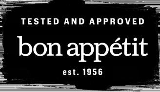 bon appetit approved
