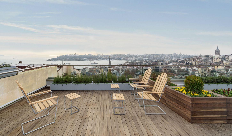 Istanbul — Witt Suites rooftop Terrace Bar