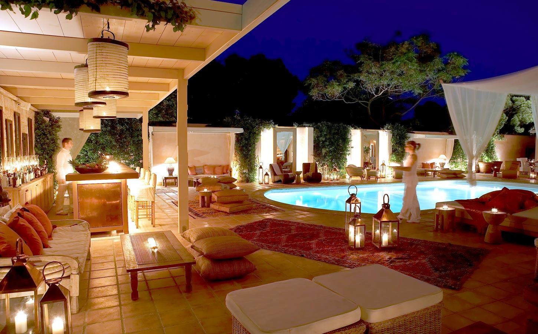 Pool & Bar with  dash of Mediterranean