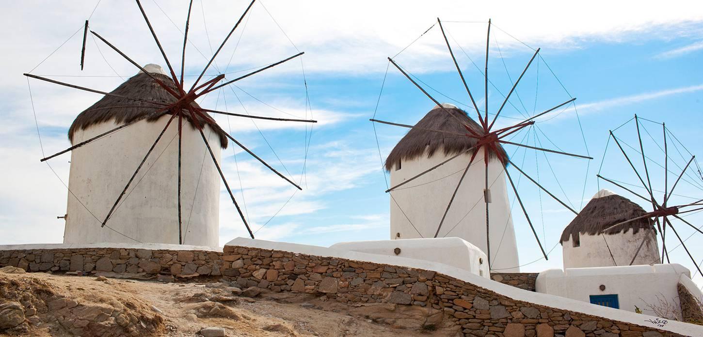 Mykonos Island Windmills