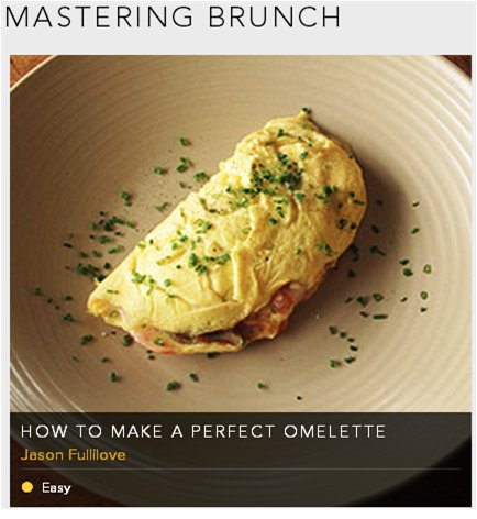 mastering brunch - how to make perfect OMELETTE