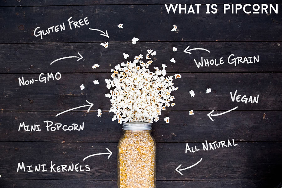 WHATS IN PIPCORN  tHE answer - ALL GOOD STUFF