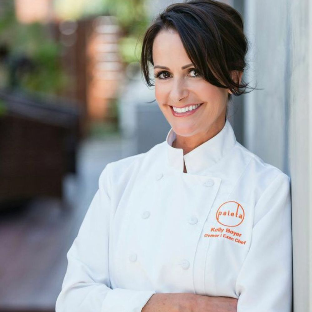 executive Chef andFounder, Kelly Boyer, is also a featured saltedtv.com chef