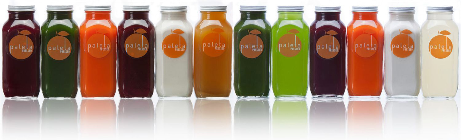 PALETA PRESSED raw, organic juices are cold pressed from farm-to-table ingredients and designed to gently promote weight loss and increase energy