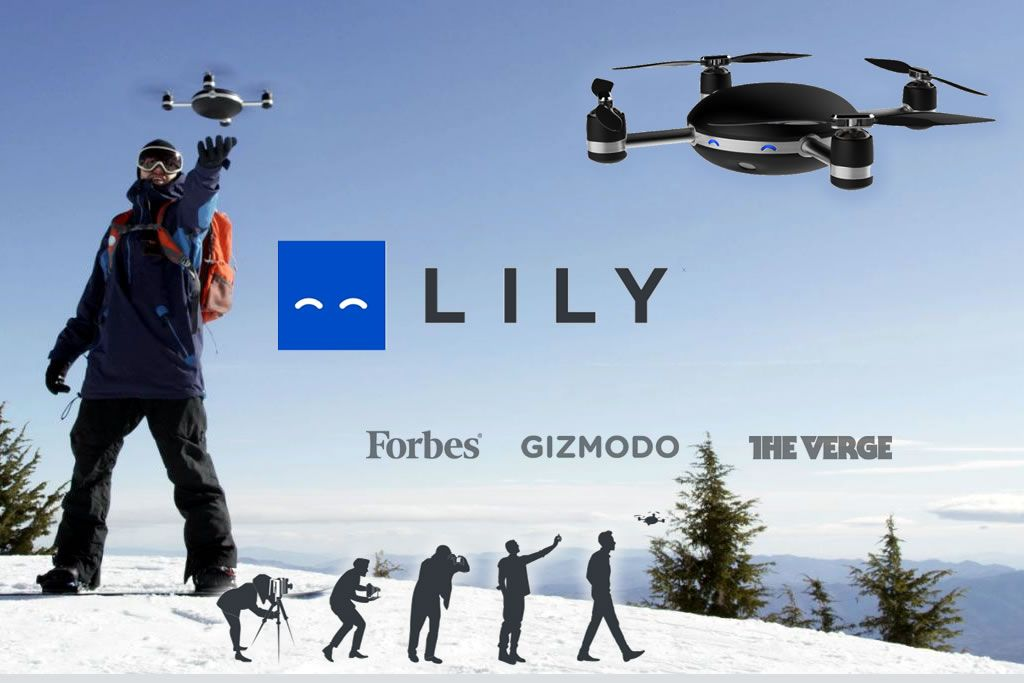 lily action camera reinvented - Just throw Lily in the air to start a new video.