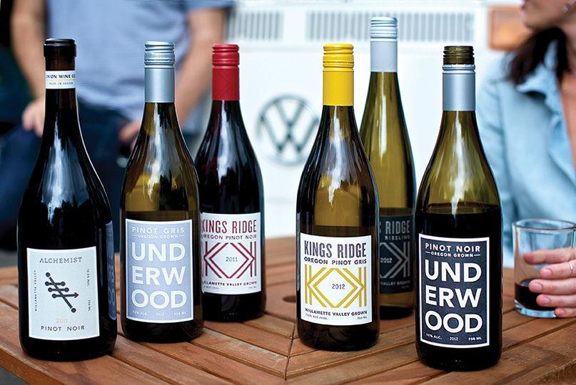 union wine company labels - The Portland, Oregon-based company wants you to do it #pinkiesdown - no muss-no fuss - simply really good wines