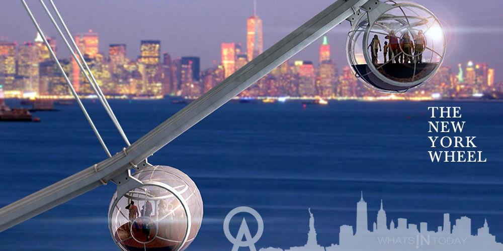 A new Landmark Attraction The New York Wheel will provide the best Manhattan observation viewing platform