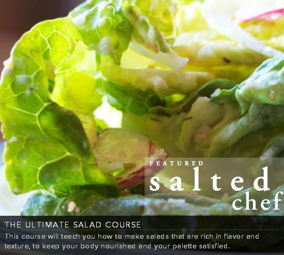 Join salted.tv.com and learn  how to cook like a pro