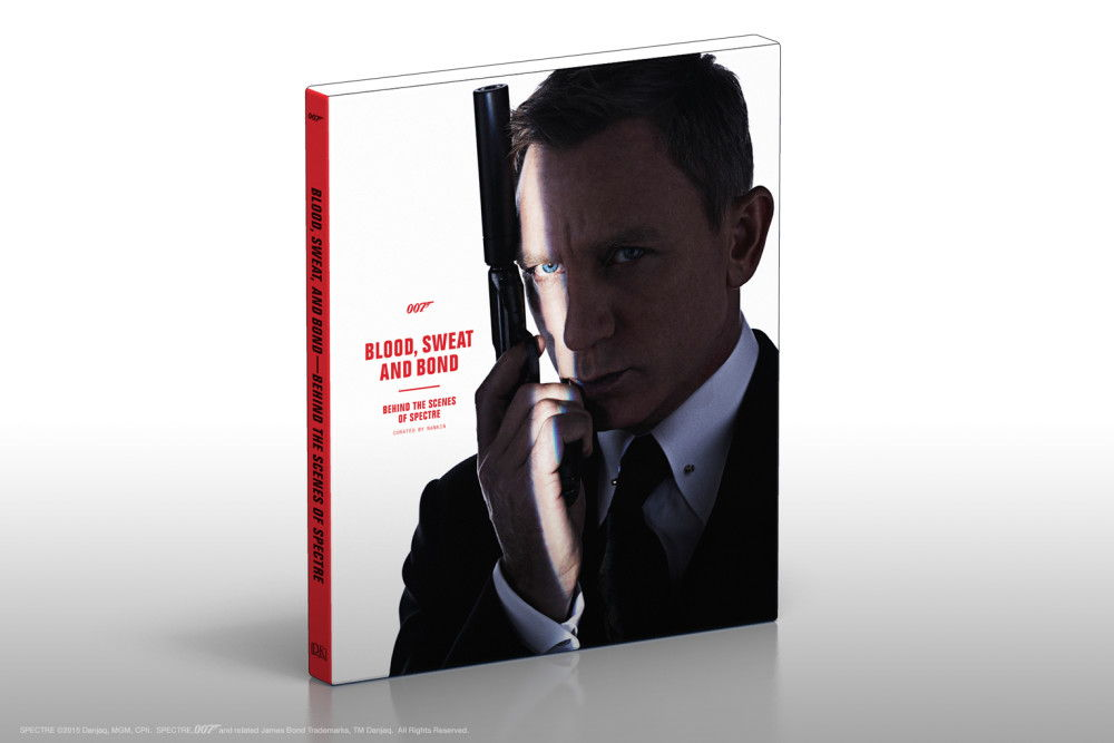 Behind the Scenes of SPECTRE , curated by photographer Rankin,  published on October 27. The book showcases the actors, locations, stunts, film sets and special effects of SPECTRE.