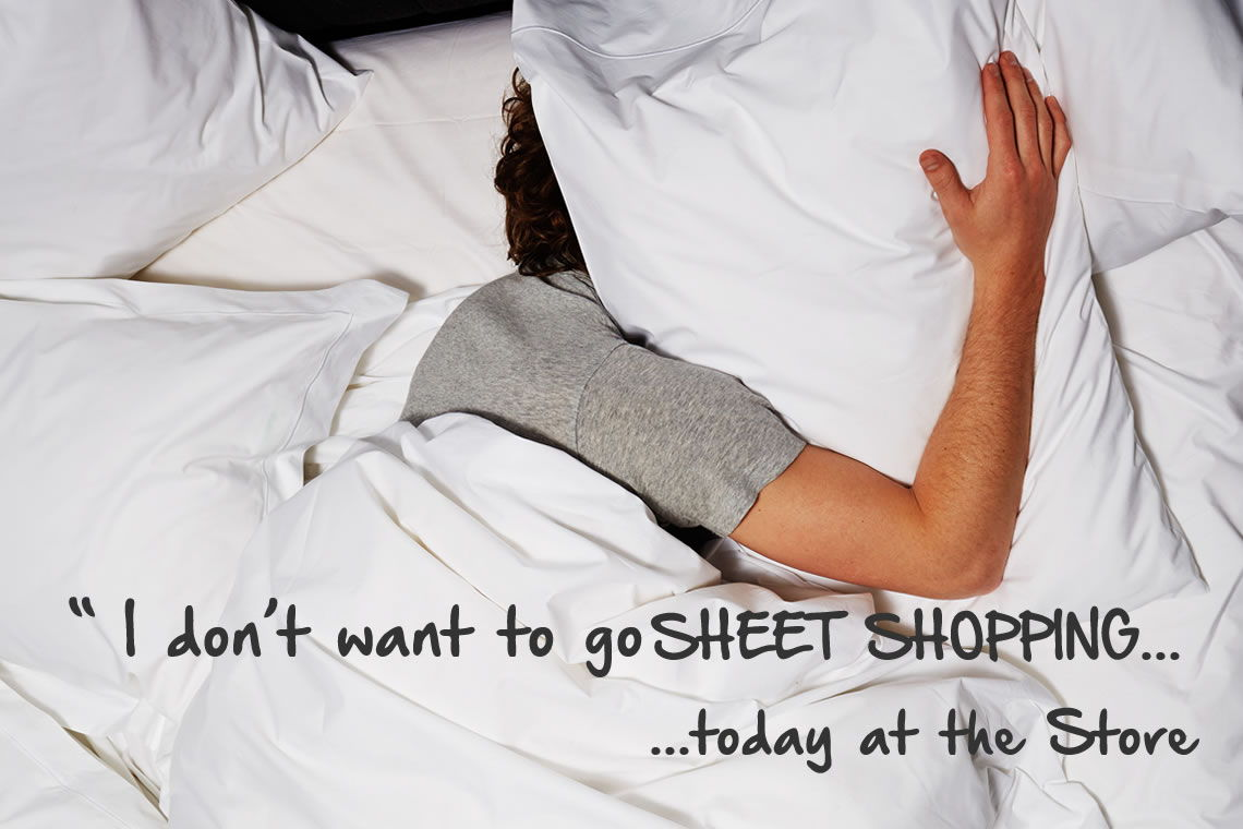 Shop for your sheets, towels online