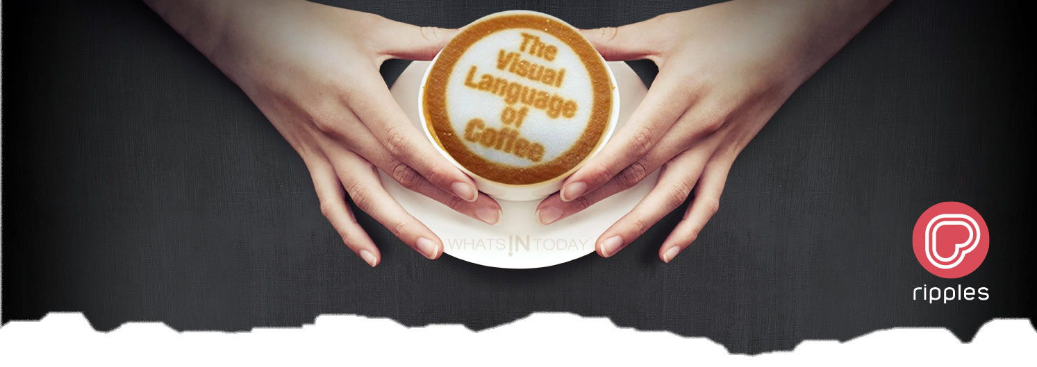 tECHNOLOGY IN YOUR COFFEE | the ripple effect, 3D Coffee lattee Art