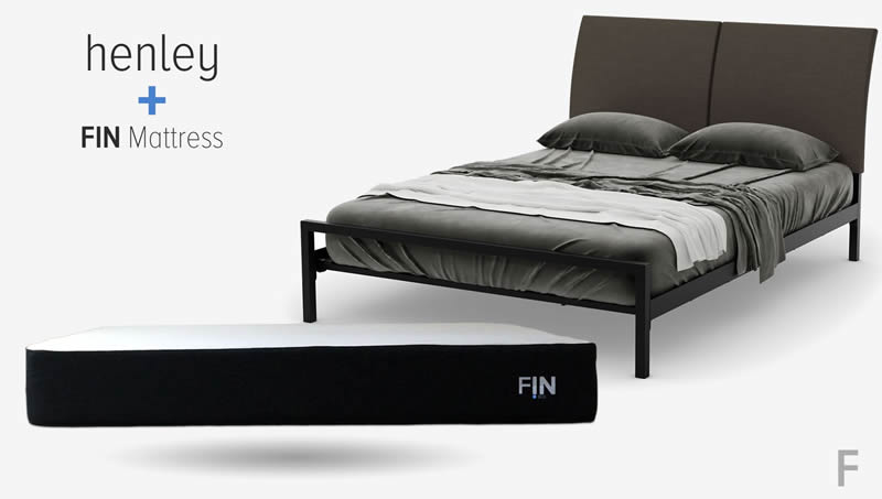 how to assemble the henley bed frame with the FIN Matreess
