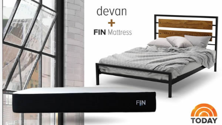 Fin Mattress plus Bed frame assembly