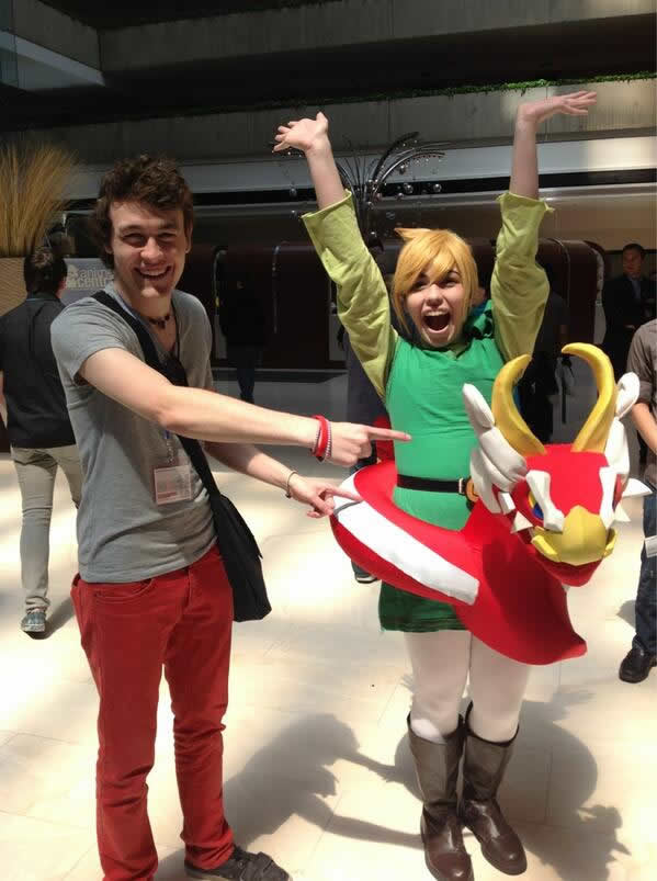 @Lunaxllama's Toon Link + King of Red Lions awesome costume with Rogersbase