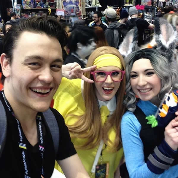 from rogers twitter feed - just has loads of fun #c2e2 #cosplay