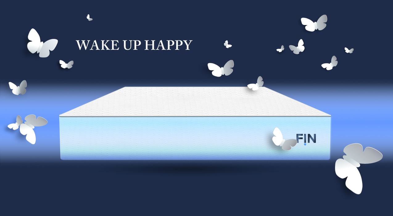 HANDCRAFTED in AMERICA with the best U.s. sourced materials. FIN mattress comes with a 10 year warranty, great customer support and a FOREVER refresh option