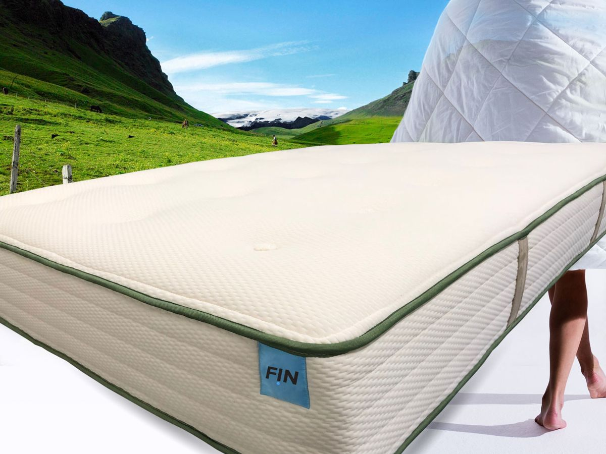Get my FIN Green mattress powered by nature -  Read the review  by  maybe  .yes . no