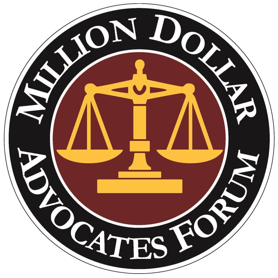 Million Dollar Advocates Forum  Owner / Attorney Mark C. Guenin is a member.