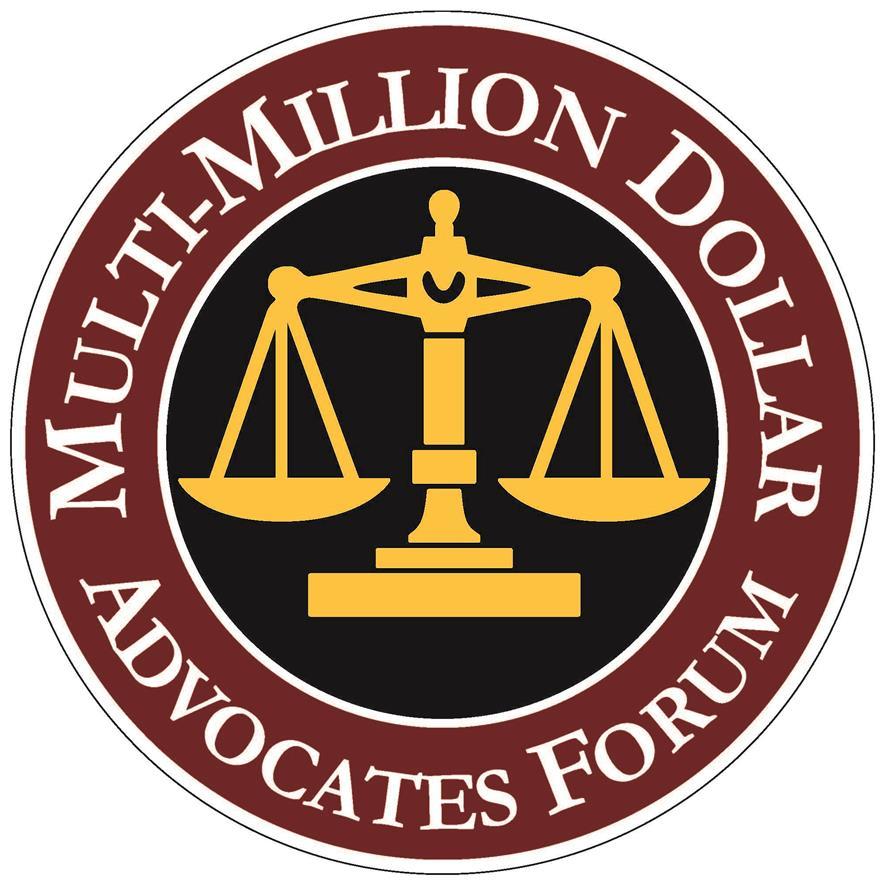 Multi-Million Dollar Advocates Forum  Owner / AttorneyMark C. Guenin is a member.