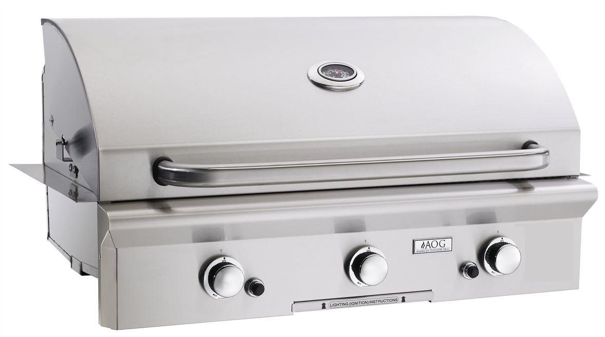 built-in grill