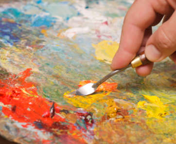Palette knife painting tips