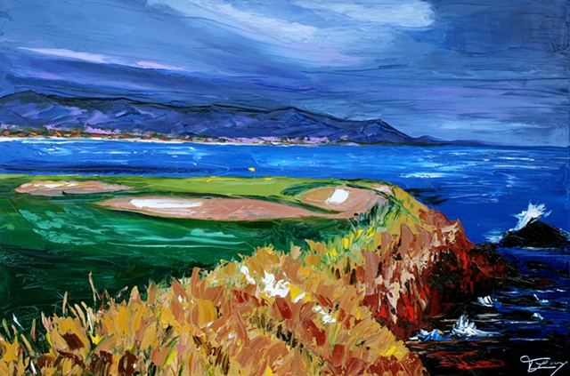 Pebble Beach 7th