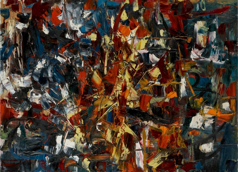 Jean-Paul Riopelle, Untitled, 1948