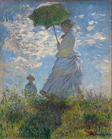 Claude Monet, Woman with Parasol