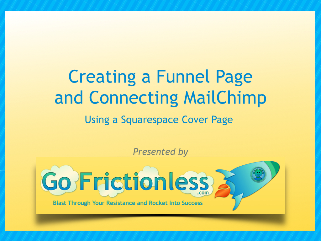 Create a Funnel Page Connected to MailChimp