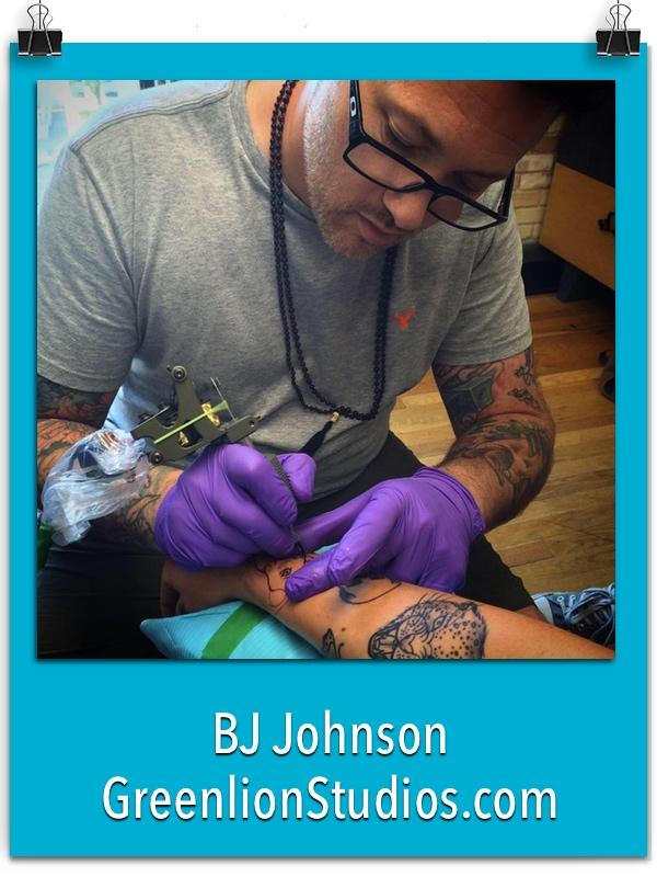 BJ Johnson - GreenlionStudios.com