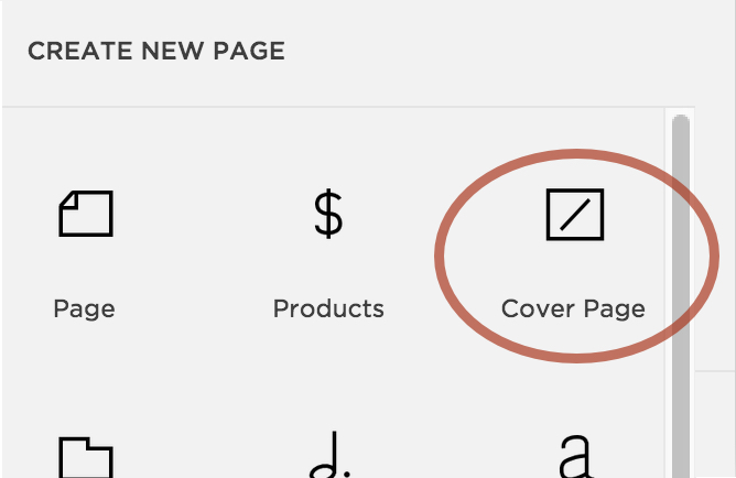 Build The Funnel Page Using A Squarespace Cover Page -