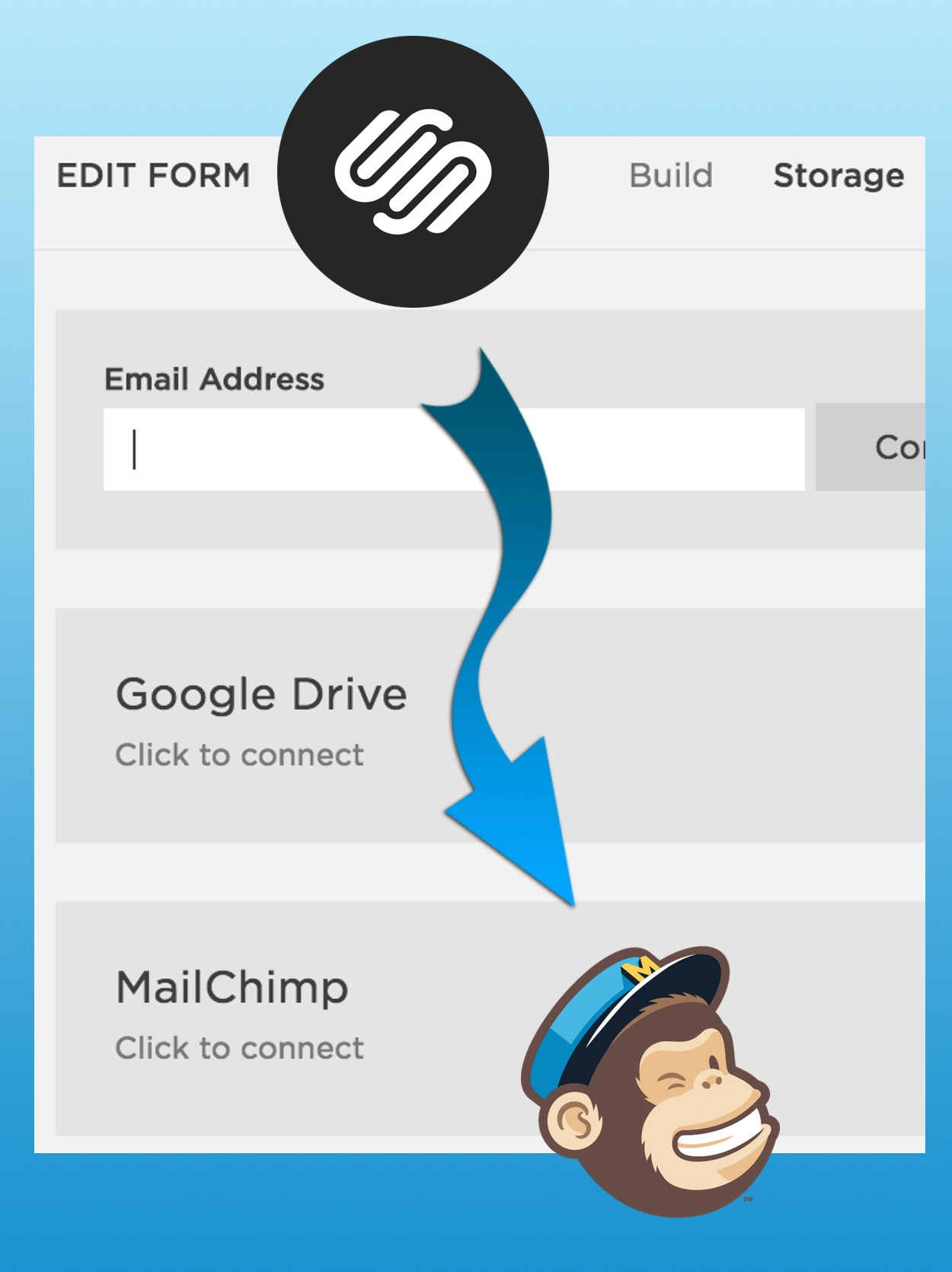 Connect Squarespace To MailChimp
