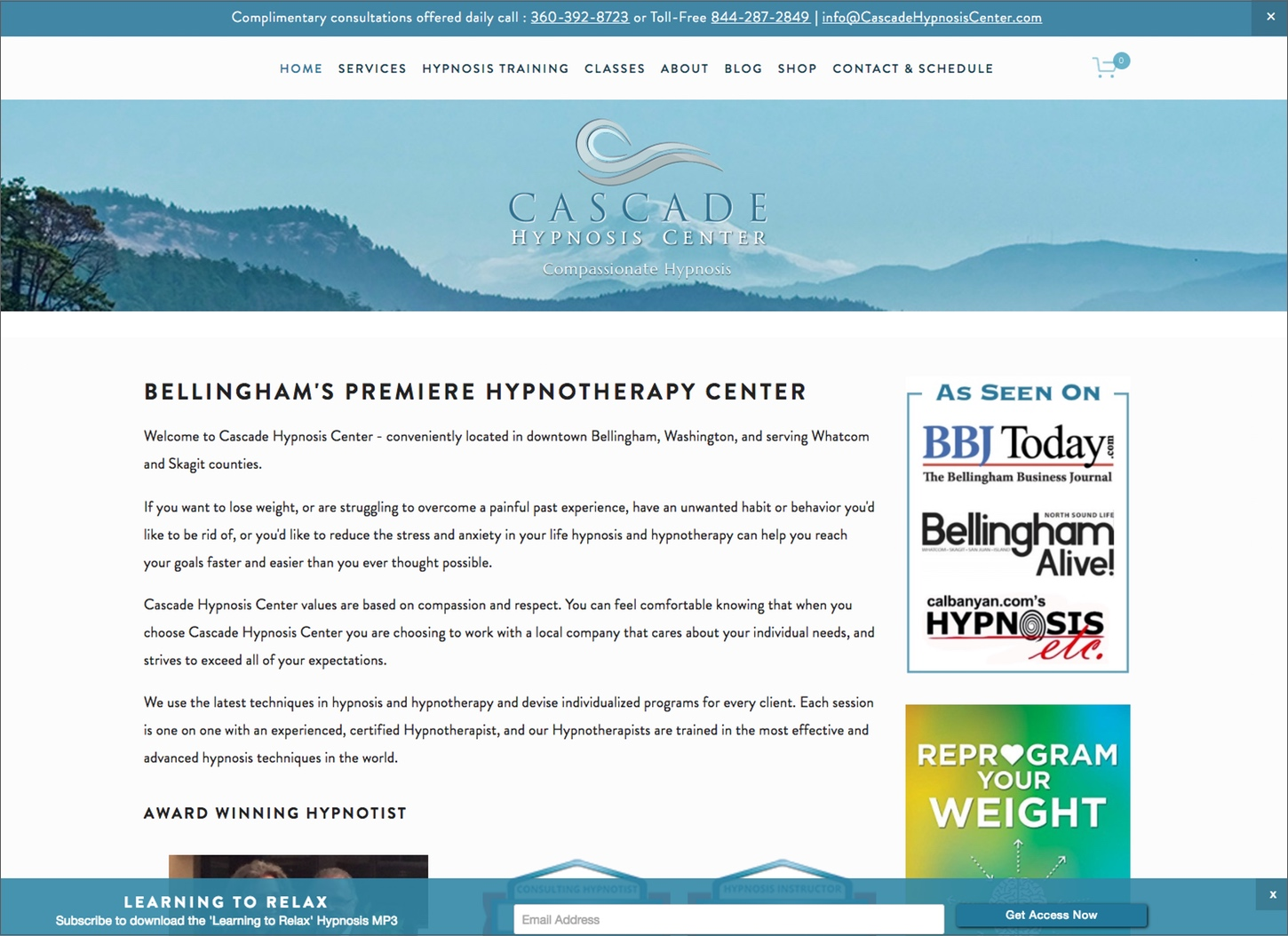 Cascade Hypnosis Center