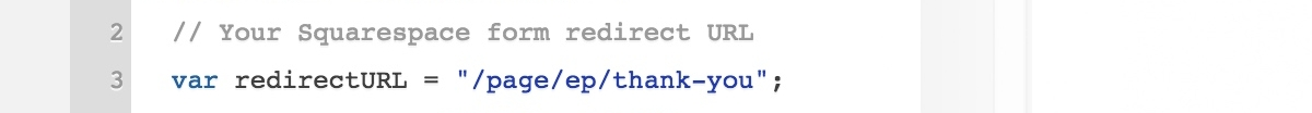 Redirect Visitors To Custom Thank You And Confirmation Pages
