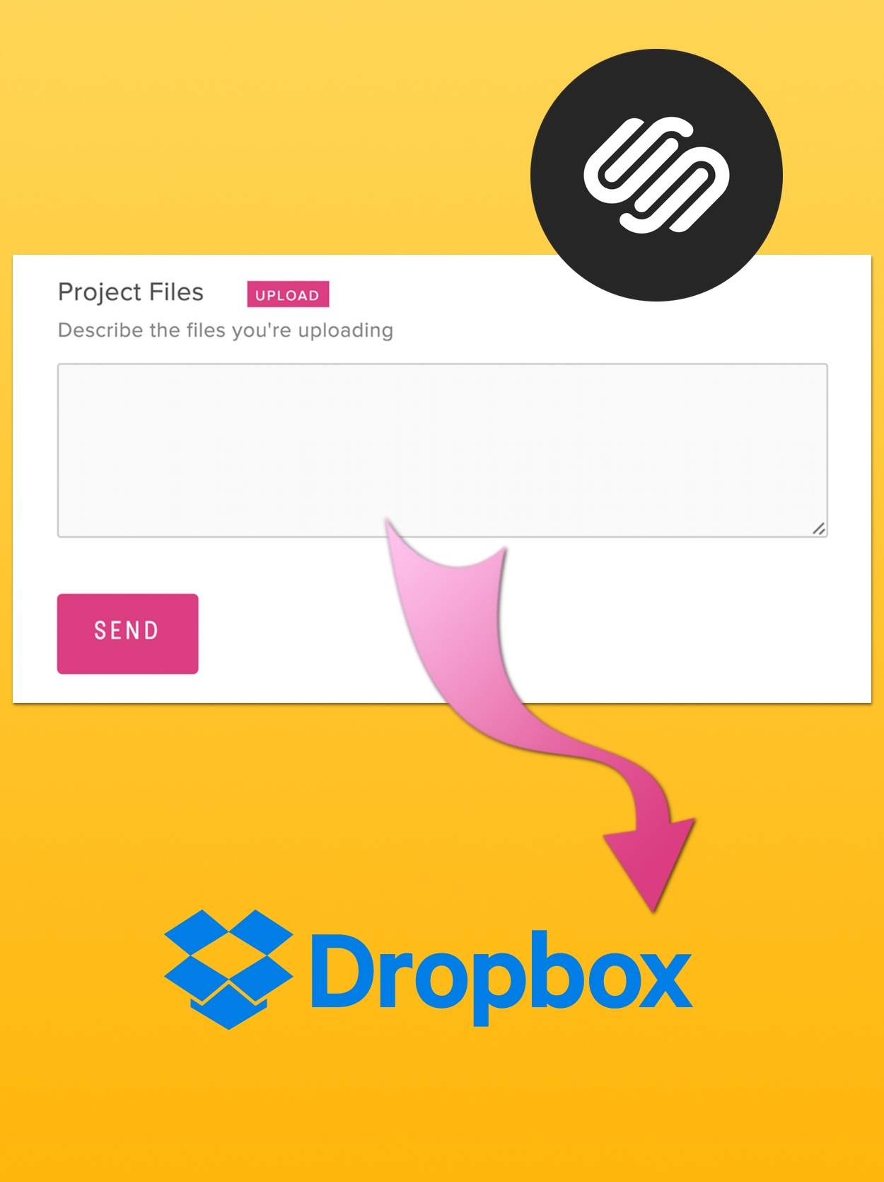 Using Squarespace Forms with Dropbox to Receive Uploaded Files