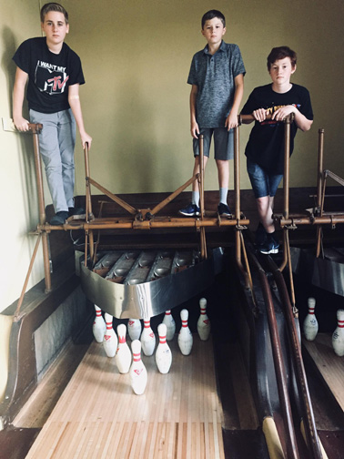 Pinboys, Fort Atkinson, Wisconsin (2018)