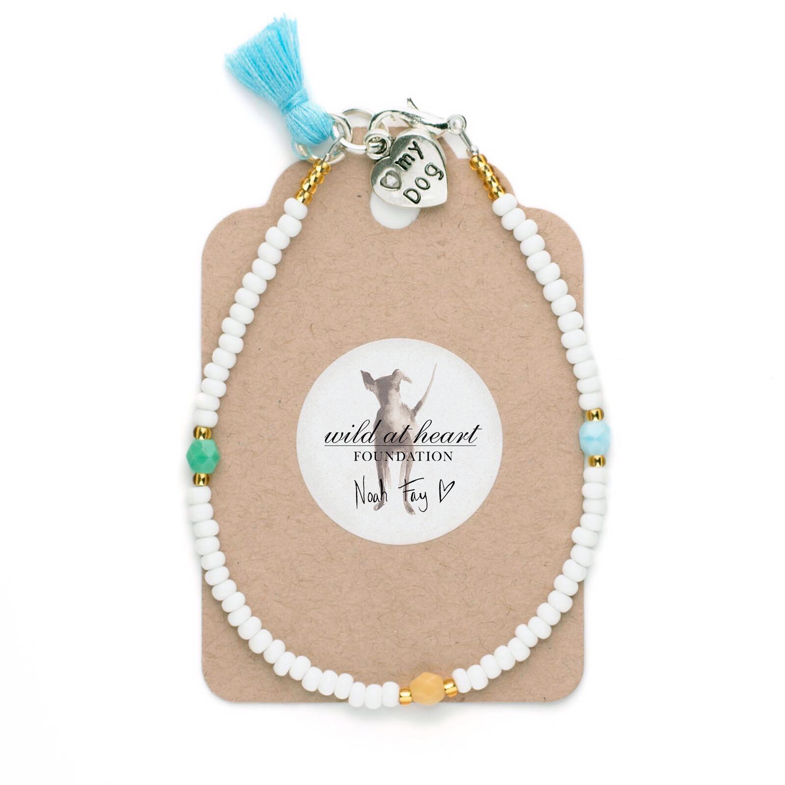The charming Wild at Heart Foundation bracelet - just £10!