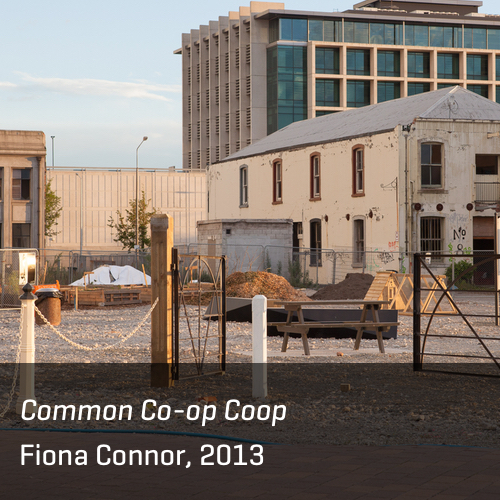 Common Co-op Coop, Fiona Connor